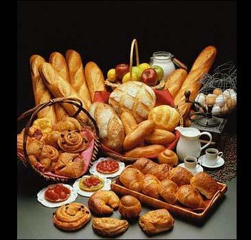 Ассортимент хлебных изделий