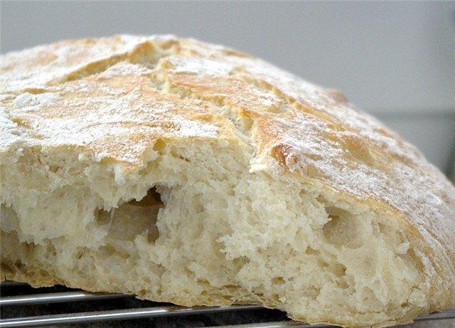 Черствение хлеба