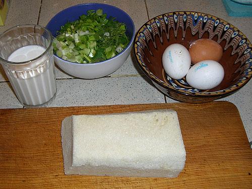 Гренки из белого хлеба в яйце