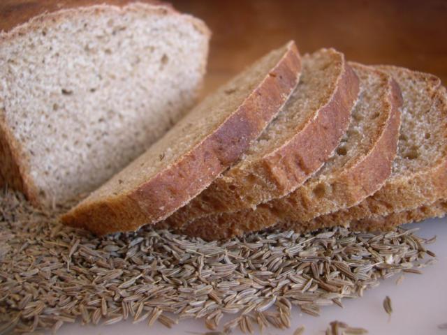 Хлеб ржаной с тмином