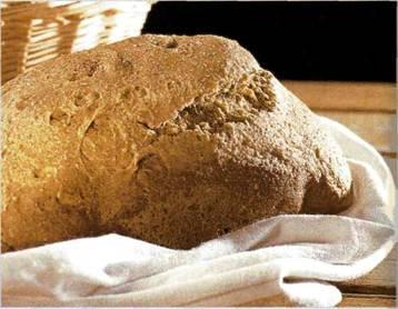 Хлеб с пивом и горчицей