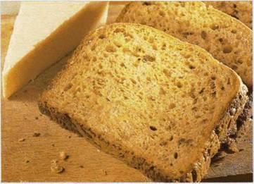Острый зерновой хлеб с сыром