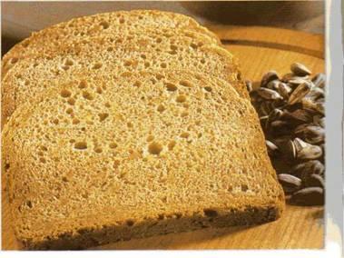 Солодовый хлеб с семенами подсолнечника
