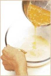Кекс с джемом и цитрусовыми