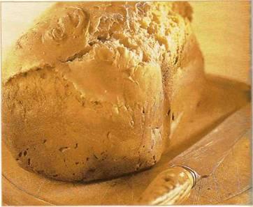 Воздушный ванильный хлеб
