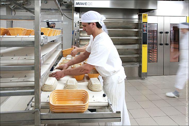 Как работает хлебопекарня