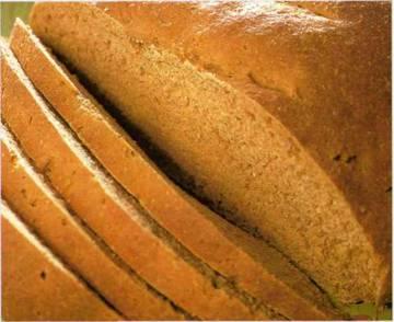 Темный кислый хлеб