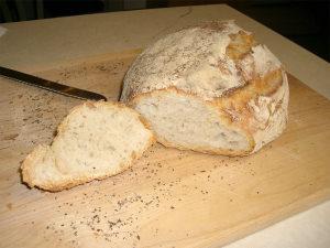 Хлеб из пшеничной муки, изделия булочные и сдобные
